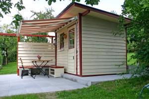 Pultdach Haus von BECK Gartenhäuser, Pultdach Häuser