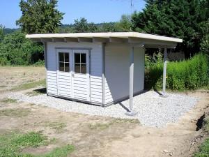 Flachdach Haus von BECK Gartenhäuser