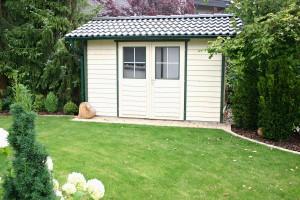 Satteldach Gartenhaus von BECK Gartenhäuser