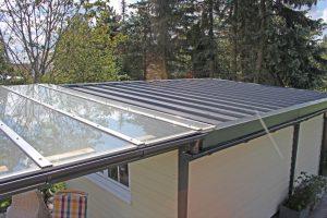 BECK - Pultdach mit seitlichem Vordach