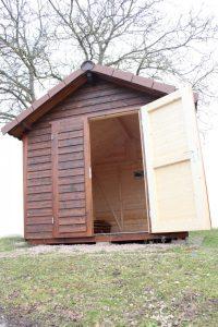 Satteldach - Geschirrhütte - Gartenhaus von BECK Gartenhäuser