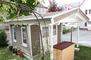 BECK Flachdach Gartenhäuser