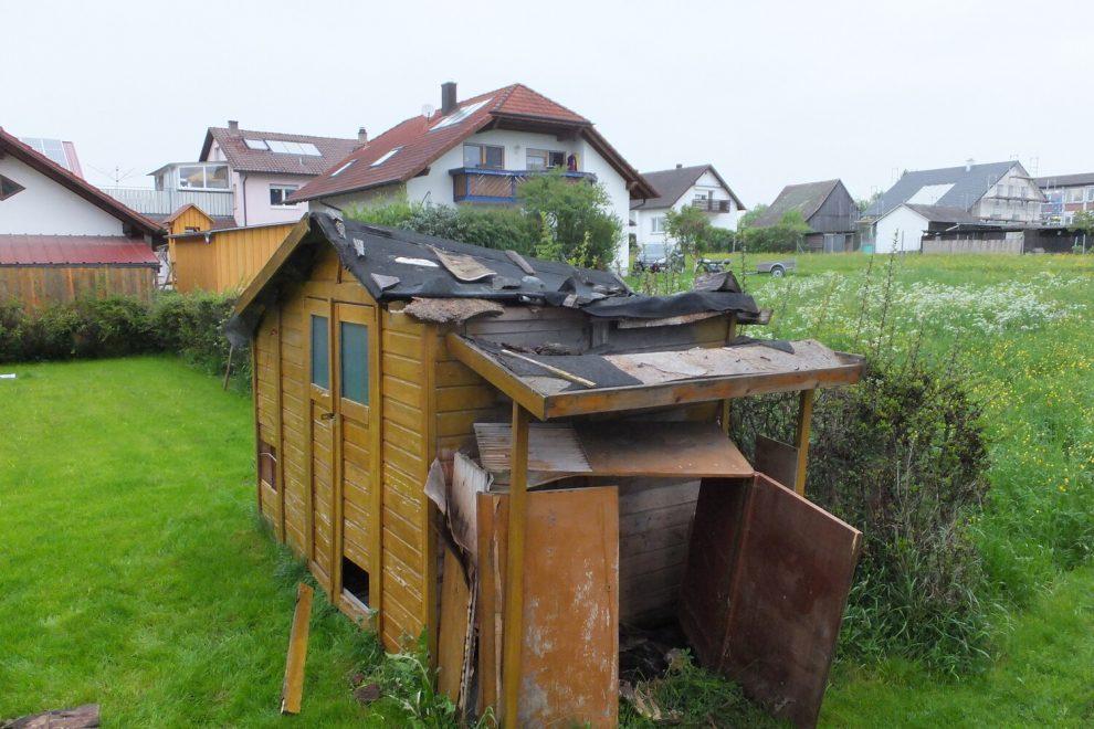 BECK Gartenhäuser - Negativbeispiel